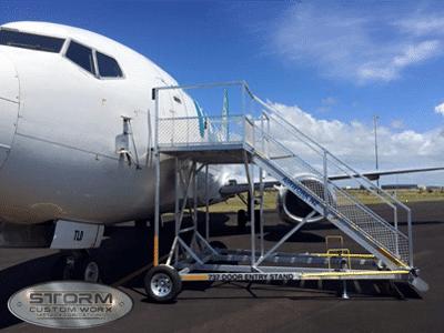 aeroplane stairs metal fabrication